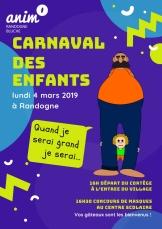 affiche carnaval 2019